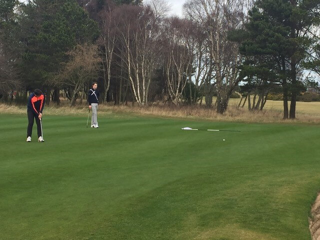 PLF Winter Series #2 – Nairn Dunbar Golf Club