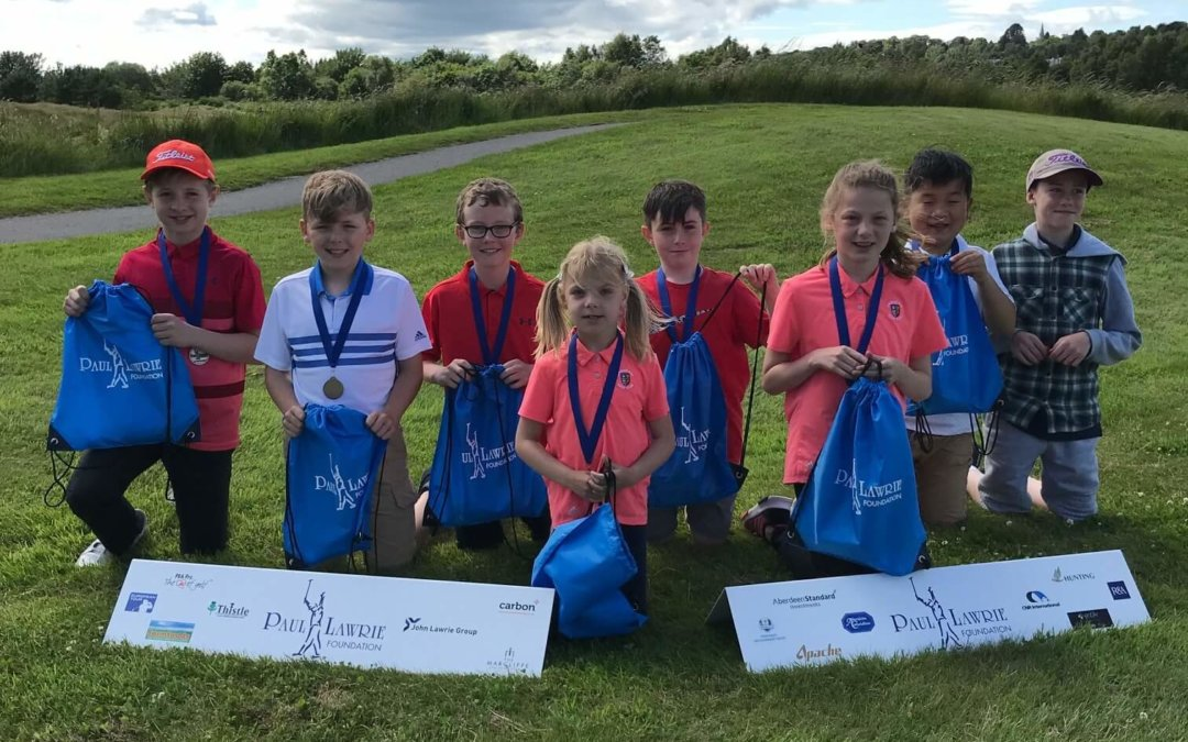 PLF FLAG – 30 June 2019 – Paul Lawrie Golf Centre