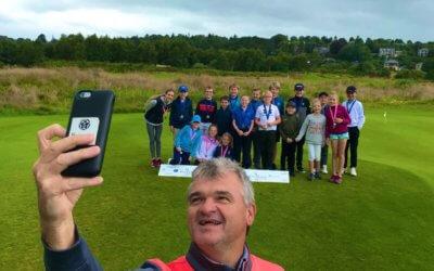 PLF U10s & U12s Flag – Paul Lawrie Golf Centre – 11th August 2019