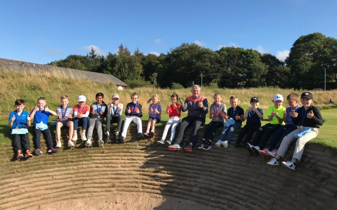 PLF U10s & U12s Flag – Paul Lawrie Golf Centre – 8th September 2019