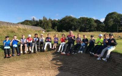 PLF U10s & U12s Flag – Paul Lawrie Golf Centre – 8th September 2019
